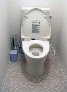節水型のトイレに交換