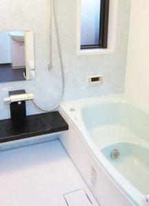 高齢のお母様の為に浴室を介護リフォーム